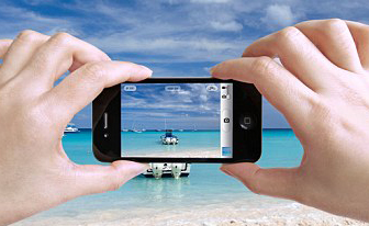 Photo taking with a smartphone